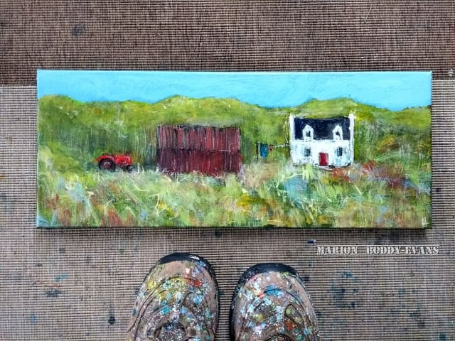Creative Skye Artist Marion Boddy-Evans Red Tractor