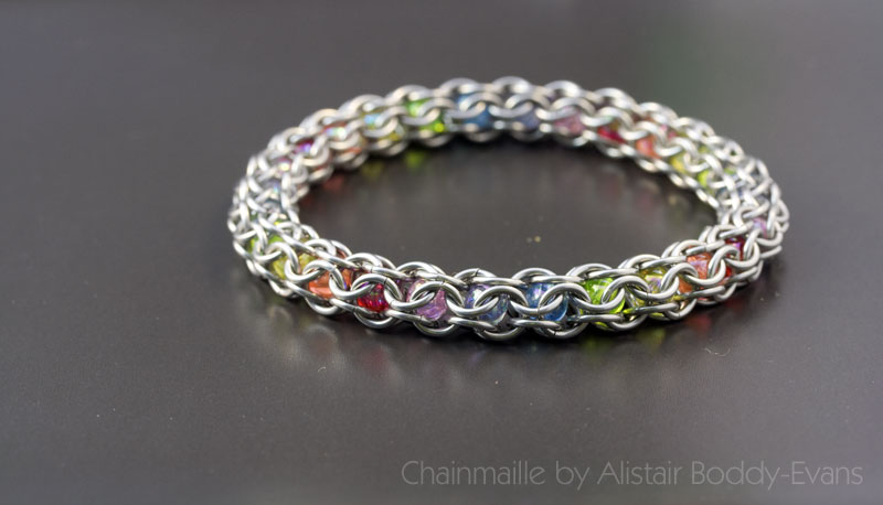 Chainmaille Jewellery by Alistair Boddy-Evans