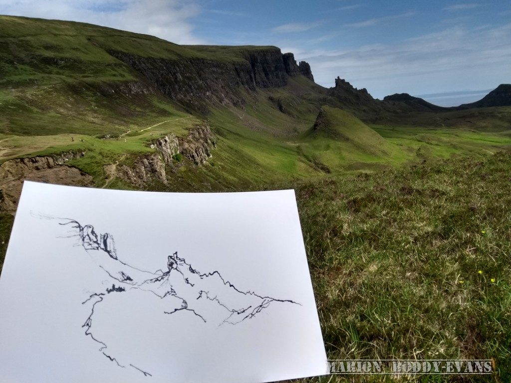Art Workshops on the Isle of Skye with Marion Boddy-Evans