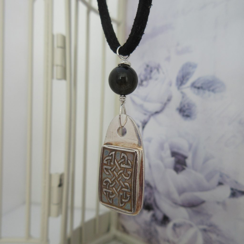 Celtic Pendant by Indigo Berry Jewellery from the Isle of Skye in Scotland