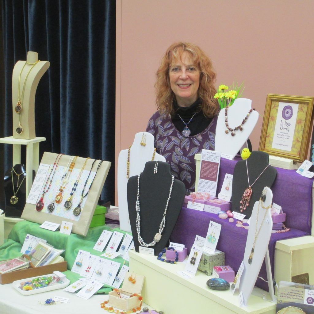 Michelle of by Indigo Berry Jewellery from the Isle of Skye in Scotland