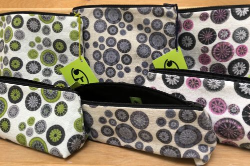 TJFrog Bags with Dorset Button Fabric